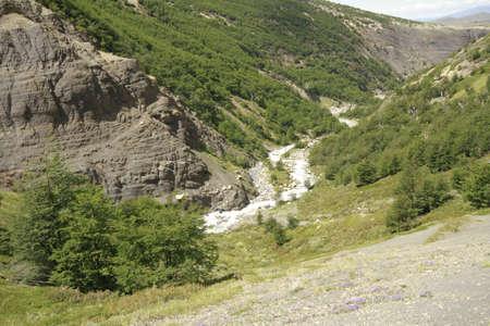 W Trek on Torres Del Paine Park Stock Photo - 17068813