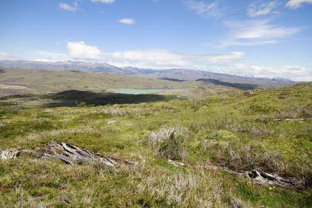 W Trek on Torres Del Paine Park Stock Photo - 17068218