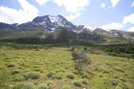W Trek on Torres Del Paine Park Stock Photo - 17085841