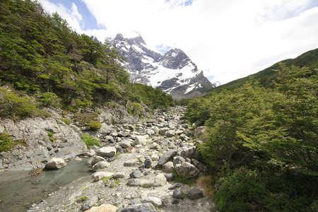 W Trek on Torres Del Paine Park Stock Photo - 17085858