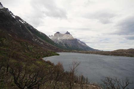 W Trek on Torres Del Paine Park Stock Photo - 17070144
