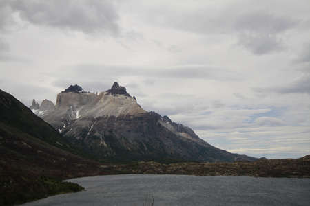 W Trek on Torres Del Paine Park Stock Photo - 17068935
