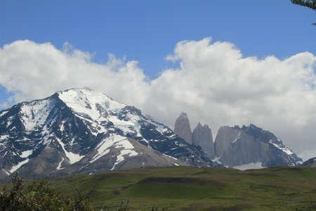 W Trek on Torres Del Paine Park Stock Photo - 17068970