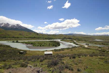 W Trek on Torres Del Paine Park Stock Photo - 17077972