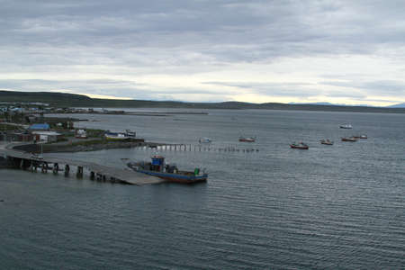 puerto natales: Ferry from Puerto Natales to Punto Montt Editorial