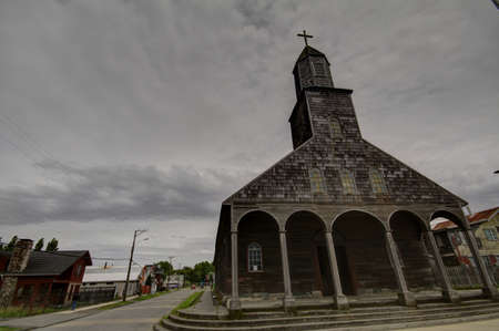 Chiloe Chile - Wooden Church