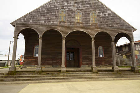 Chiloe Chile - Wooden Church photo