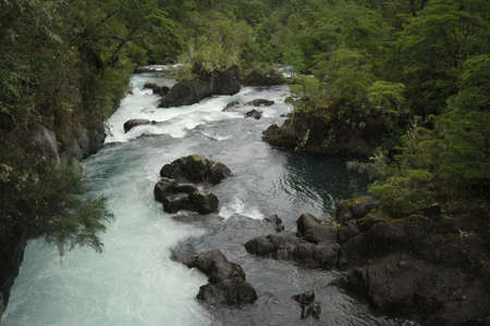 Waterfalls of petrohue photo