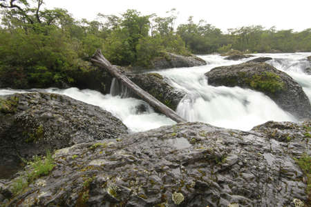 Saltos de petrohue, Waterfalls of petrohue photo