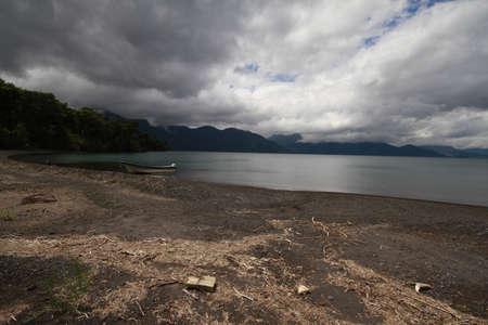 Todos los santos lake Stock Photo - 17563247