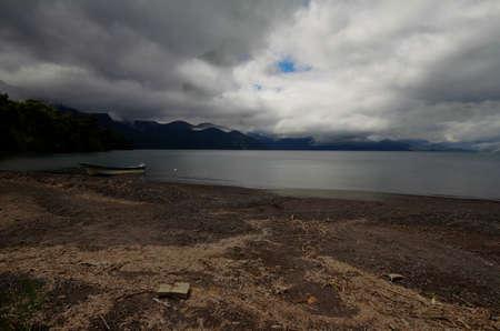 Todos los santos lake Stock Photo - 17563017