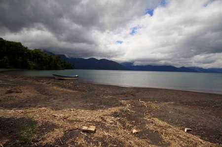 Todos los santos lake Stock Photo - 17563010