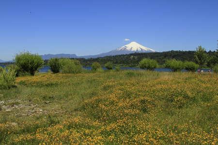 Volcano Villarica Chile Stock Photo - 17564288