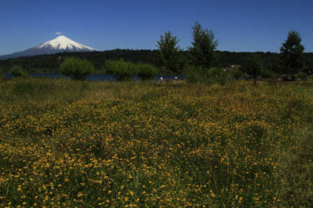 Volcano Villarica Chile photo