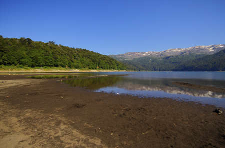 nacional: Parque Nacional Conguillo Chile Stock Photo