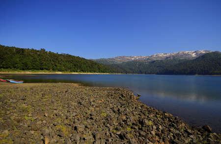 parque: Parque Nacional Conguillo Chile Stock Photo