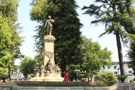 ベルナルド ・ ヒギンズ チャン ・ チリの像