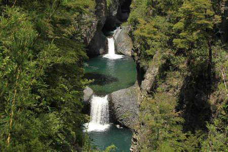 parque: Parque nacional siete taza Chile