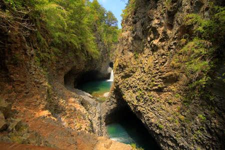 siete: Parque nacional siete taza Chile