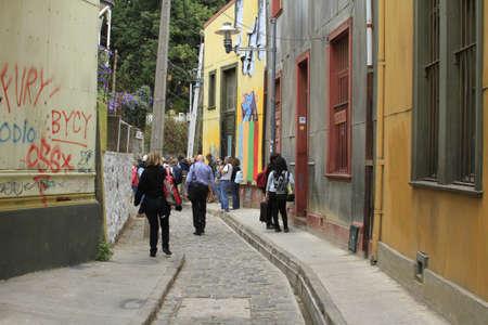 valparaiso: Streets of Valparaiso,  Chile
