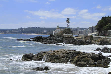 del: Beaches of Valparaiso, Vina Del Mar, Chile