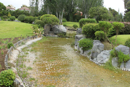 japenese: Japanese gardens in La Serena Chile