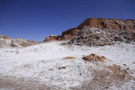 Valle del luna - valley of the moon, in atacama, chile photo