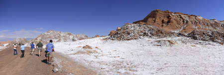 Valle del luna - valley of the moon, in atacama, chile