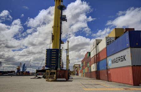 montevideo: Port of Montevideo Uruguay Editorial