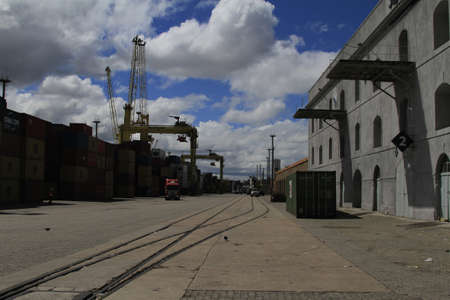 Port of Montevideo Uruguay Editorial
