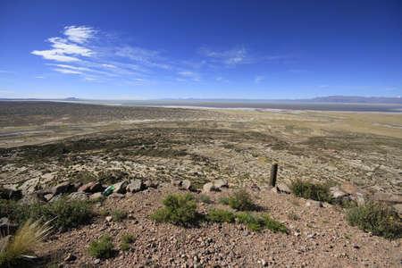 볼리비아의 아틀란티스 유적 스톡 콘텐츠