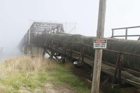 overbridge: Industrial zone - water pipelinew Editorial