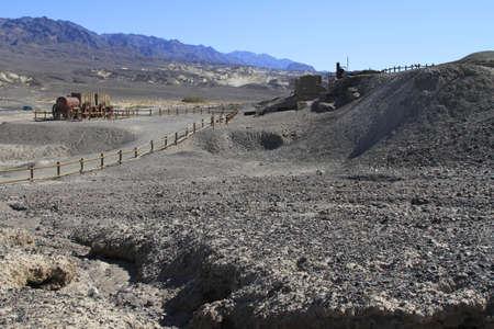 Borax mine, Death Valley California