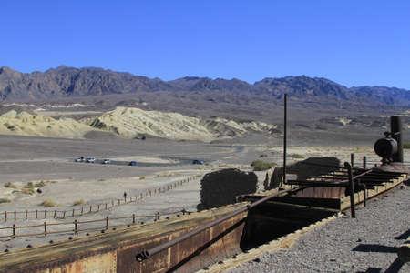 borax: Borax mine, Death Valley California