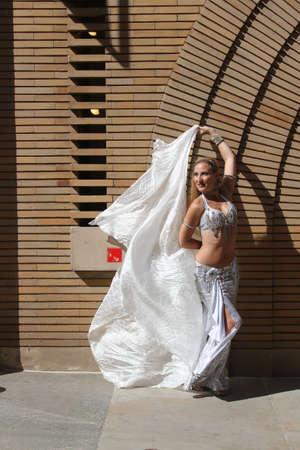 danser in openlucht