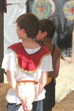 medeival: Medeival people in a renaissance faire