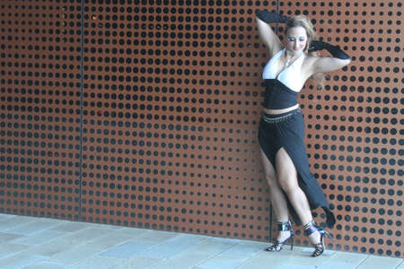 photoshoot: Photoshoot of a dancer outdoors