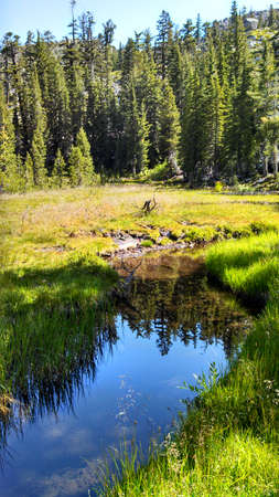 backcountry: Exploring backcountry of california - desolation wilderness, summer 2015 Editorial