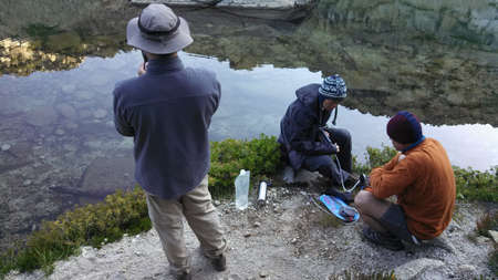 arri�re-pays: Exploring backcountry of california - desolation wilderness, summer 2015 �ditoriale