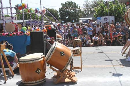 san jose: San Jose Obon Festival, Summer 2015, Downtown San Jose