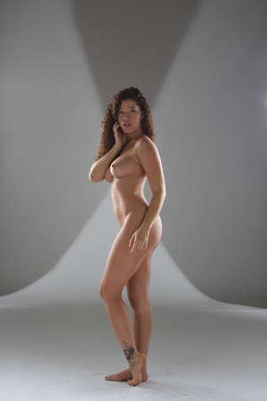 Fine art nude of a beautiful model