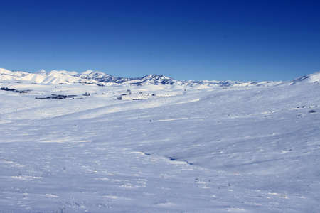 idaho: Southern Idaho in winter - Sun Valley, Craters of the moon
