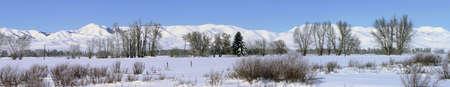 Zuidelijk Idaho in de winter - Sun Valley, Kraters van de maan