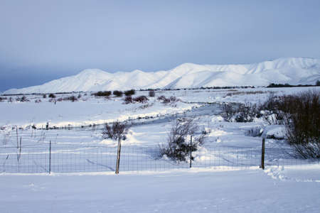craters: Southern Idaho in winter - Sun Valley, Craters of the moon