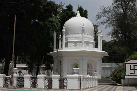 gurudwara: View of Ram Rai temple; Dehradun Stock Photo
