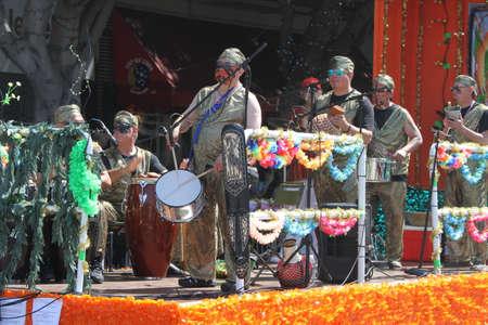 San Francisco Carnival, May 2016, California USA, Parade in the mission district of San Francisco