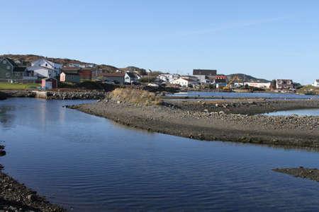 newfoundland: view of Twilingate,newfoundland,canada Stock Photo