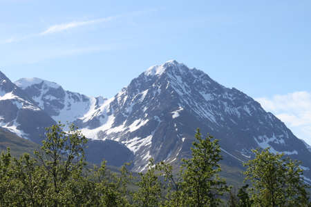 Lyngen Alps, Norway,  mountains and fjords