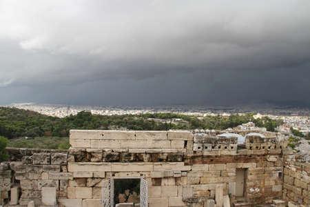 View of Acropolis, Athens, Greece