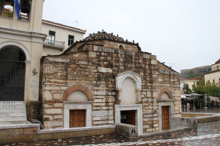 Byzantine Church in Athens Greece